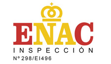 Logo inspección ENAC