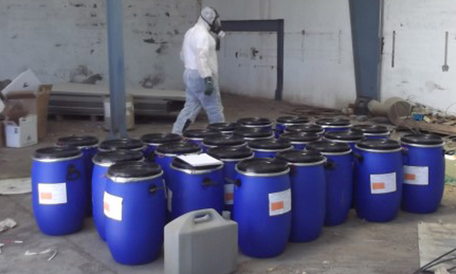 Gestion residuos peligrosos