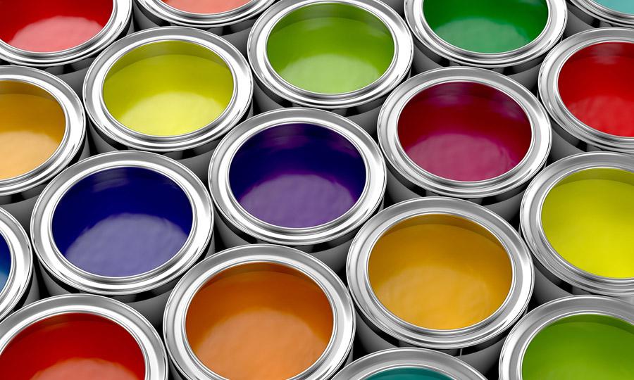 Colores de pinturas