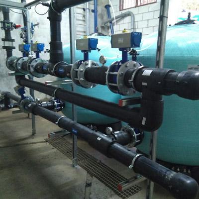 Estacion Tratamiento Agua Potable Lascuarre