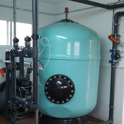 Estacion de Tratamiento del agua potable