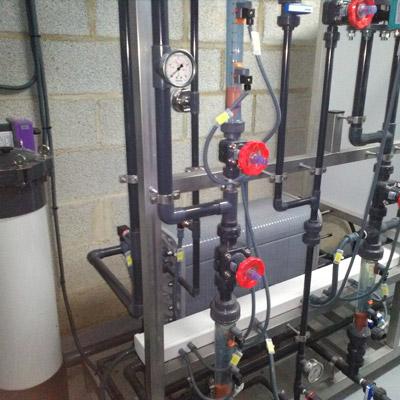 Tratamiento del agua electrodesionización