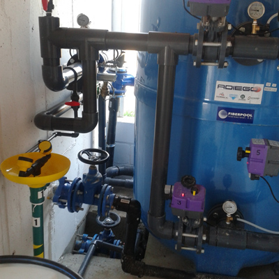 Estacion Tratamiento Agua Potable