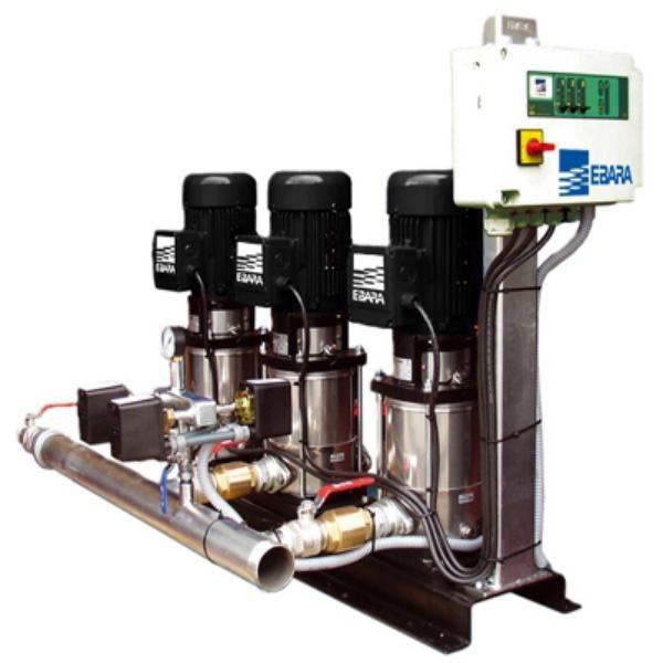 Equipo de presion para agua