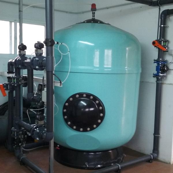 Filtro eliminar turbidez agua
