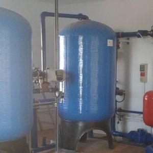 Tratamiento del agua potable decloracion