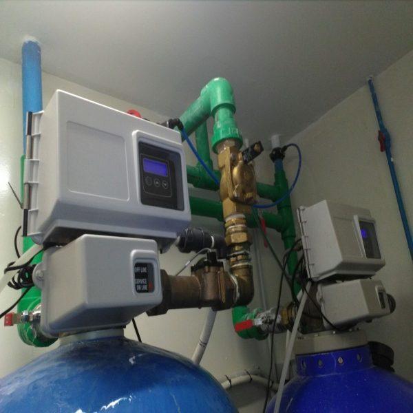 Equipo descalcificador tratamiento del agua