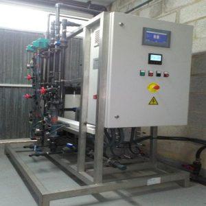 Electrodesionización para tratamiento del agua